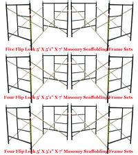"Six Set New Flip Lock 5' X 5'1"" X 7' Masonry Scaffolding Frame Sets CBMscaffold"