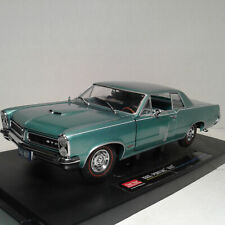 1965 Pontiac GTO 1:18 Scale Diecast Car turquoise sunstar american collectibles