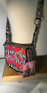 Betsey Johnson Betseyville Small Crossbody Handbag Fruit-Y Red Cherries NWT