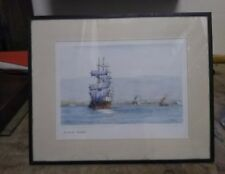 Victorian Edwardian Watercolour by HK Jones.    Wanderer owned by WH Potter