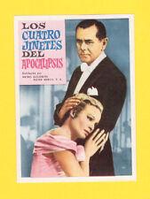 Four Horsemen of the Apocalypse Glenn Ford Ingrid Thulin CINE 1962 Card Spain