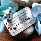 Gifts for her Husband for him wedding Anniversary Valentines Day Love heart