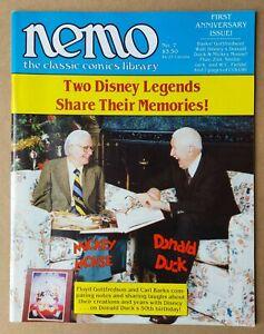 NEMO CLASSIC COMICS # 7 _ VFN+ _ 1984 _ CARL BARKS TRIBUTE ISSUE _