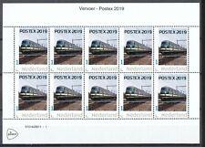 PERSOONLIJKE POSTZEGELS - POSTEX 2019 - De Blauwe Engel (Trein)            PP211