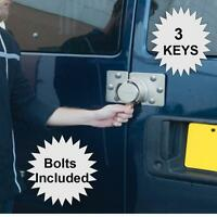 Van Door Lock Heavy Duty Bolts Included, 3 Keys High Security Side Rear Doors