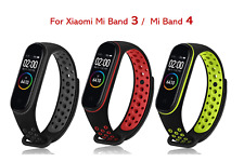 For Xiaomi Mi Band 3 4 Replacement Silicone Sport Bracelet Wristband Strap