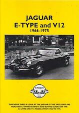 JAGUAR E TYPE S1 S2 S2 6CYL V12 COUPE 2+2 CONVERTIBLE 1966-1975 ROAD TESTS BOOK