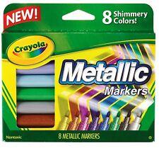 Crayola Metallic Markers - 8 pack