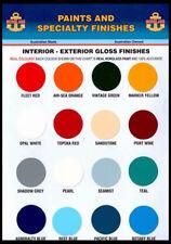 marine paint, Norglass, Northane 2 pak top coat