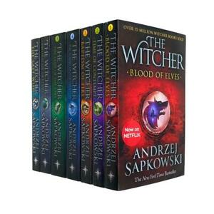 The Witcher Series Andrzej Sapkowski 7 Books Collection Set  | Andrzej Sapkowski
