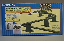 BACHMANN HO E-Z TRACK GRADUATED PIER SET 14 Pcs train trestle overpass 44471 NEW