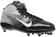 Nike Alpha Talon 3/4 TD NFL WHT/BLK Light Football Cleats Men Shoes 443308 004