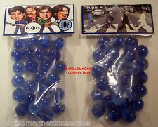 2 BAGS OF THE BEATLES ABBEY ROAD RECORD ALBUM ADVERTISING PROMO MARBLES