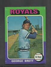 1975 Topps #228 Geroge Brett RC Royals NM/MT Was GAI 8