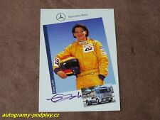 Ellen LOHR - original autogramm, Mercedes Truck, Karte/card 10x15 cm