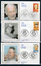 enveloppe  1er jour  série  des 6  grands aventuriers Francais  2000