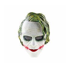 The Dark Knight Joker Cosplay Mask Heist Costume Collection Party Props Helmet