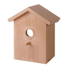 Bird nesting box C*reative Made of durable Finch Wren wood window Mount Useful