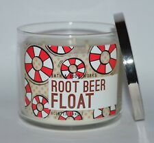 NEW BATH & BODY WORKS ROOT BEER FLOAT SCENTED CANDLE 3 WICK 14.5OZ LARGE VANILLA