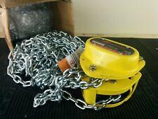 Ai185 New Ingersoll Rand Km050 20 18 12 Ton 20 Lift Chain Block Hoist