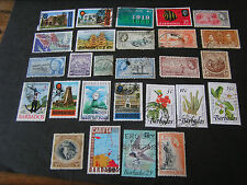 BARBADOS, ASSORTED #3, 27 DIFFERENT STAMPS PACKAGE FINE USED