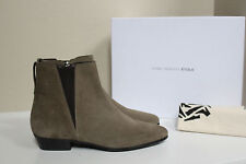 NIB sz 6 / 36 Isabel Marant Chelsea Taupe Suede Low heel Ankle Bootie Shoes