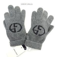 Auth GIORGIO ARMANII gloves Knit Top Women''s [unused] T904