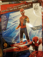 The Amazing Spider-Man 2 Costume Muscle Chest Size M 8/10 Boys (For 5-7yrs) Nip