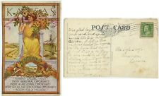1911 Kansas Calling You to emigrate pc - posted 1912 Garden City