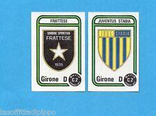 PANINI CALCIATORI 1980/81-Figurina n.568- FRATTESE+JUVE STABIA -SCUDETTO-Rec