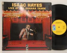 Isaac Hayes            Live            Sahara Tahoe         DoLp        VG+  # 1