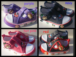 NEW  SNEAKER SHOES FOR Toddler Girls IN Many Sizes & Colors.