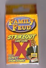 2016 NEW FAMILY FEUD STRIKE OUT CARDS GAME .
