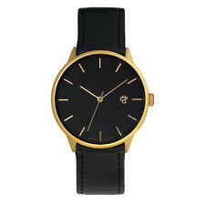 CHEAPO NEW Mens Khorshid Watch Black Gold BNWT