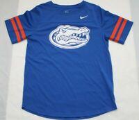Nike Women's Size Large Florida Gators Logo Mesh Shirt Sleeve Jersey Shirt