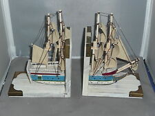 Book Ends Sailing Ship Bookends