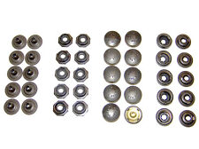 Pull The Dot Snap Fastener, Locking Snap, One-Way Snap, Black Finish, 10 Piece
