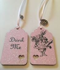 Eat Me/drink Me - Alice In Wonderland Theme Gift Tags Party/ Wedding Decoration