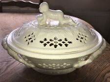 Royal Creamware Masterpieces Lidded Dish