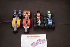 Vintage Galoob Micro Machines Tuff Trax Monster Truck Tractor Pullers Lot Of 8