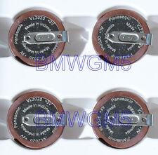4x Panasonic VL2020 Battery for BMW E46 E39 E60 E9x Key Fobs