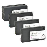 4PK 952XL 952 Ink Cartridges For HP Officejet Pro 8710 8715 8716 8720 8725 8728