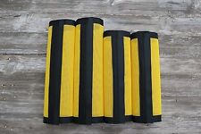 Fly Protection Leg Wraps/Leggings For Horses, Straight Fly Boots Set Of 4,Yellow