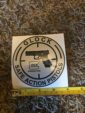 Glock Safe Actions Pistol Silver Sticker Decal 2020 Shot Show Vegas