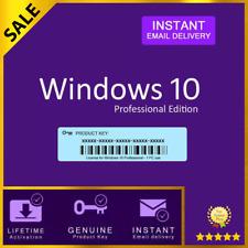 Windows 10 Pro (32/64Bit) Genuine Retail Product key - Immediate delivery✅