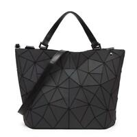 Women Handbags Style Fashion Laser Handle Bag Female Geometry Women Shoulder