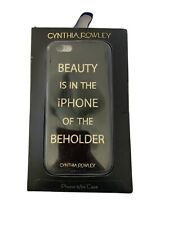**Cynthia Rowley Case for Iphone 6/6s, 7 Black and Gold Beauty