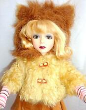"Kitty the Cowardly Lion UPSIDE DOWN OZ 17"" Doll 1/4 MSD BJD Goodreau Wizard of"