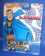 MATTEL REAL RIDERS MARVEL COLLECTOR HOT WHEELS CARS DR. STRANGE (CRACKED)