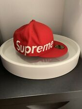 supreme new era hat size 7 3/8